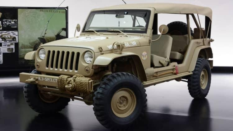 Dream Cruising in three Jeep concept cars