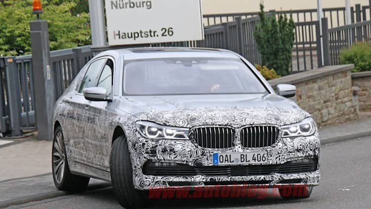 BMW spied testing new Alpina B7