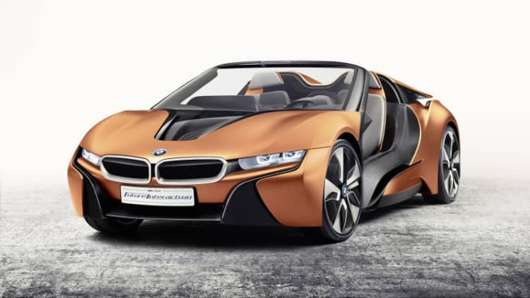 BMW i8 Spyder production could still be years away
