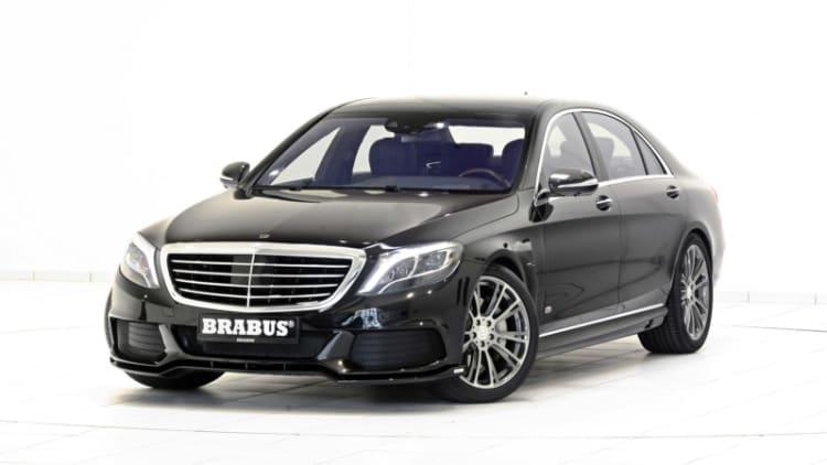 Brabus boosts big Benz plug-in hybrid