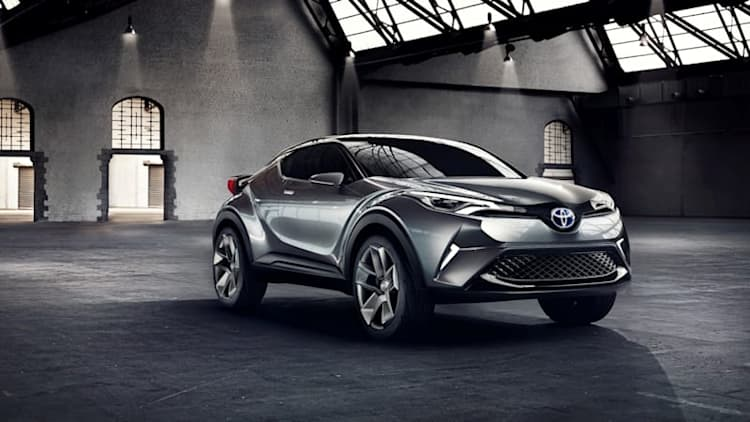 Production Toyota C-HR to debut in Geneva, has hybrid engine