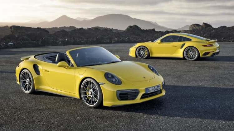 Porsche turns up boost on 911 range with new Turbo and Turbo S
