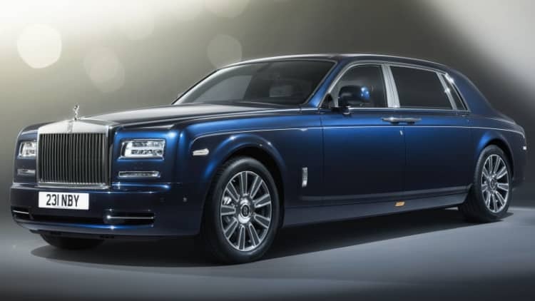 Rolls-Royce Phantom Limelight is opulence par excellence