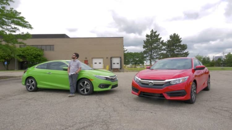 I chugged a Surge and compared Honda Civic coupes, cheap to expensive