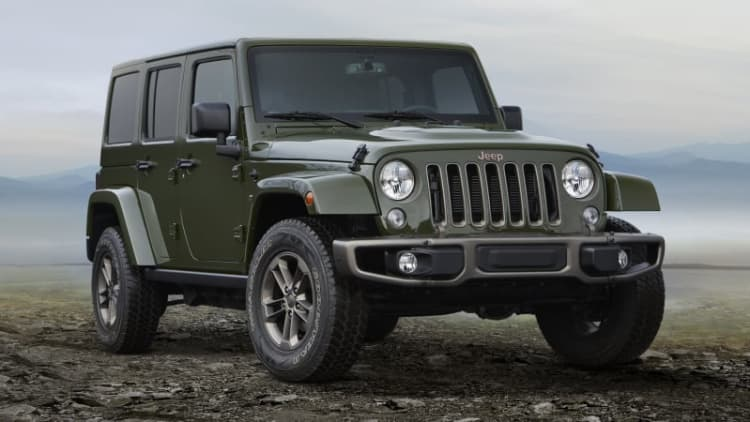 FCA goes all-in on Jeep and Ram brands on cheap gas bet