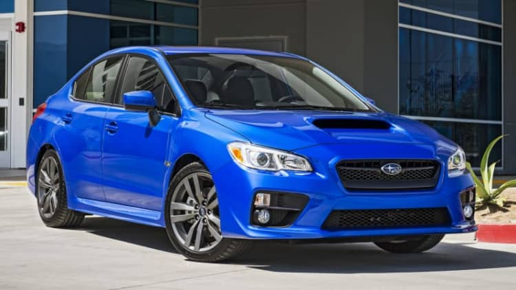 2016 Subaru WRX and STI get new safety, tech equipment
