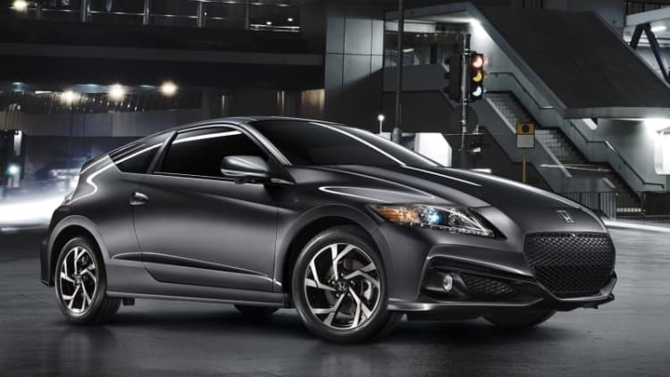 Honda adds tech to 2016 CR-Z, no powertrain upgrades