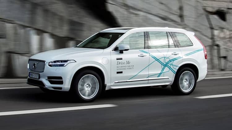 Volvo hands over 100 self-driving cars to London families