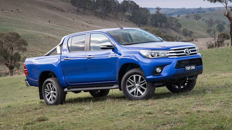 Toyota rolls out all-new HiLux pickup Down Under [UPDATE]