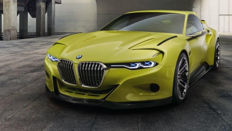 BMW 3.0 CSL Hommage evokes classic 1970s Bimmer design