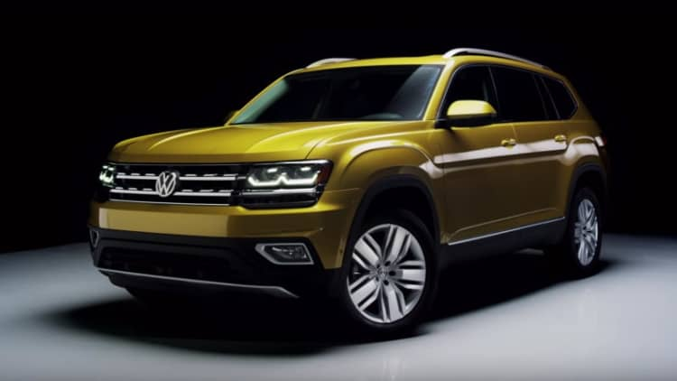 This is how VW designed the Atlas SUV specifically for America