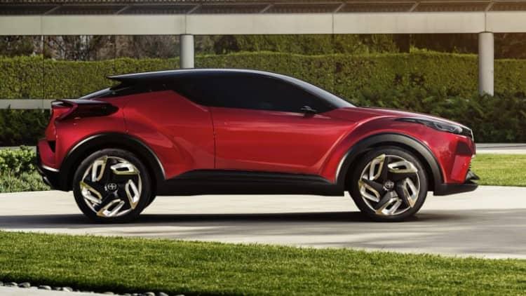 Scion C-HR Concept looks sharp at LA Auto Show