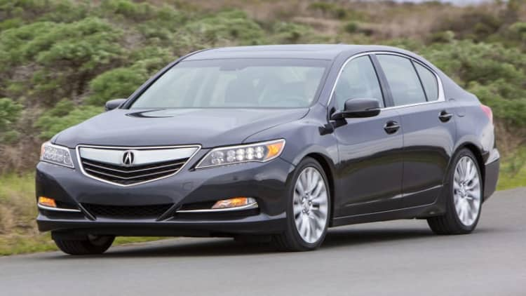 Acura RLX gets chassis upgrades, AcuraWatch for 2016