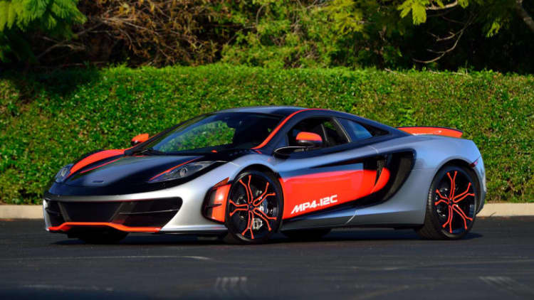 This unique McLaren 12C is valued at nearly $1.6 million