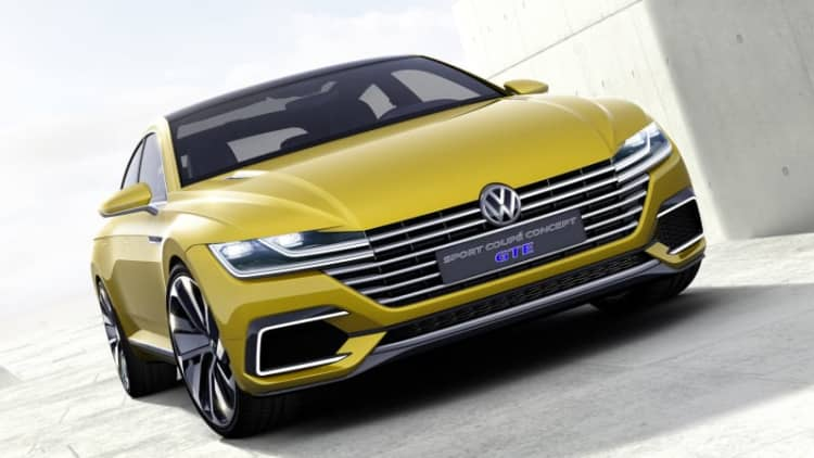 VW Sport Coupe Concept GTE 'marks beginning of a new design era' [w/video]