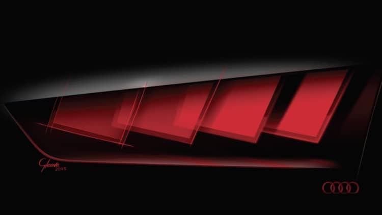 Audi bringing matrix 'organic' LED concept to Frankfurt