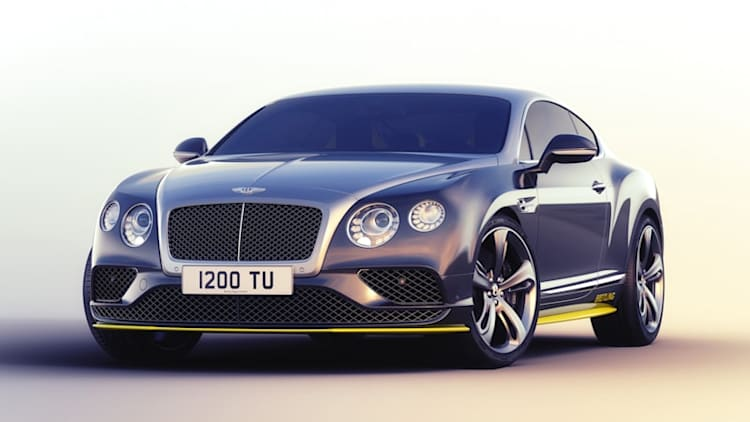 Bentley Continental GT takes off with Breitling Jet Team