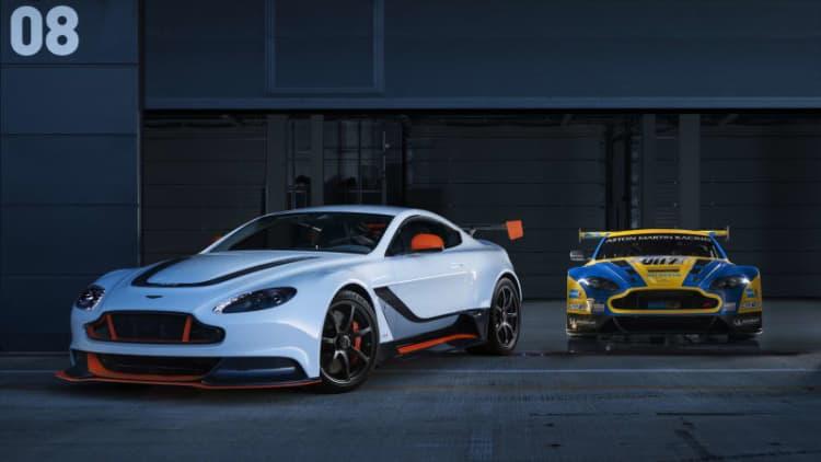 Aston Martin reveals hardcore Vantage GT3 special edition