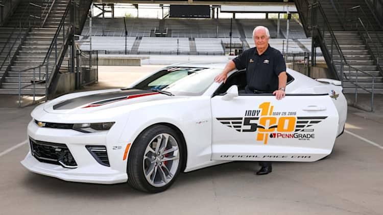 Roger Penske to drive 2017 Camaro SS pace car at Indy 500