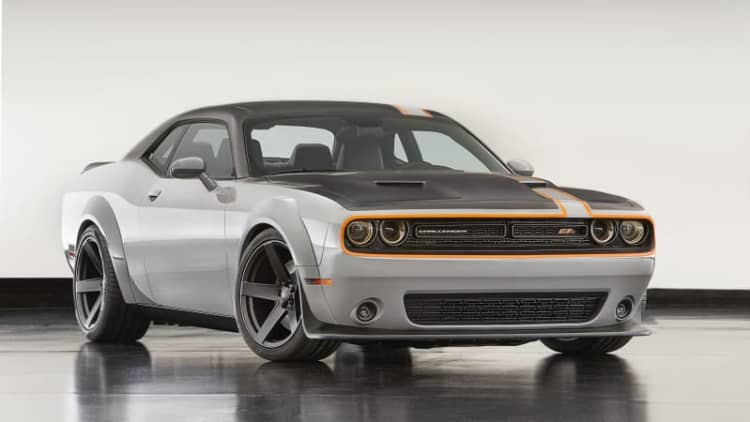 Mopar highlights wild SEMA creations, AWD Challenger Concept