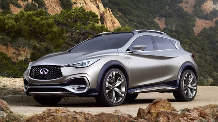 Production Infiniti QX30 coming to LA Auto Show
