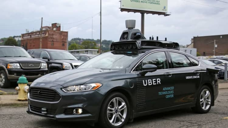 Uber hopes facilities in Detroit will help shape its autonomous future