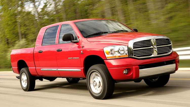 Chrysler recalling 67k trucks with manual transmissions