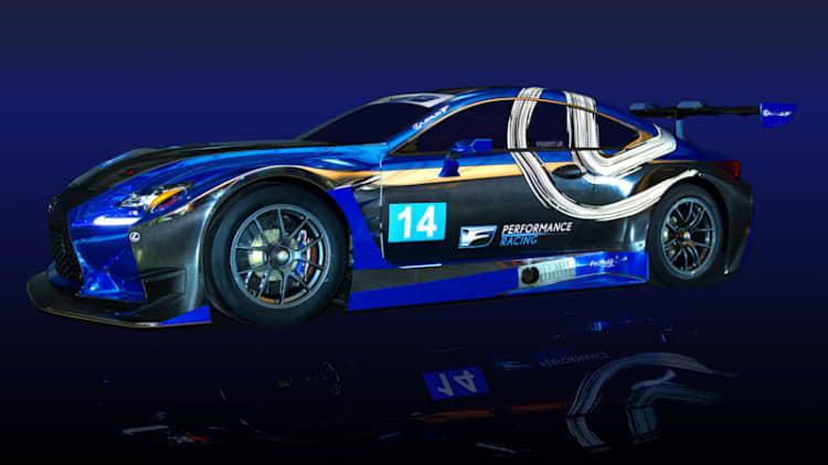 Lexus and Scott Pruett go racing with RC F GT3