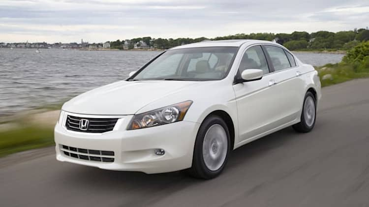 Honda recalls Accord to replace airbag control unit