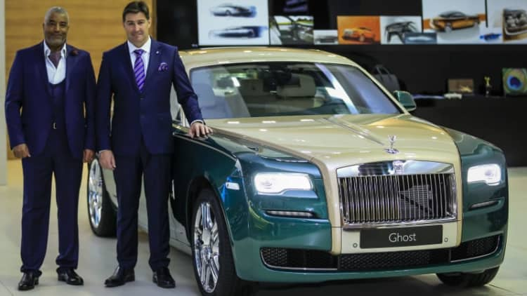 Rolls-Royce rolls out specials at Dubai show