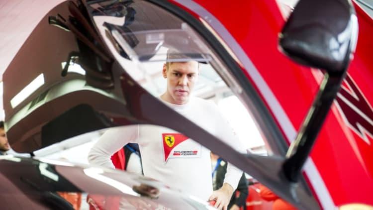 Sebastian Vettel rips Ferrari FXX K around Fiorano