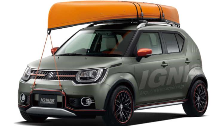 Suzuki tunes up tiny concepts for Tokyo Auto Salon