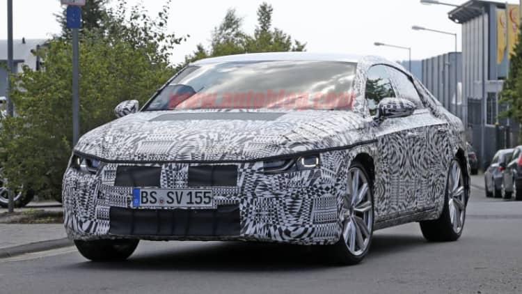 VW dresses up 2018 CC with LEDs, sharper lines