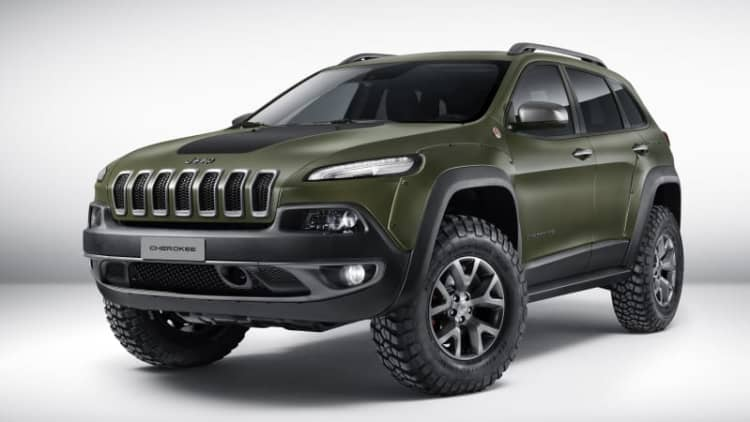 Mopar showcases modified Jeeps in Dubai