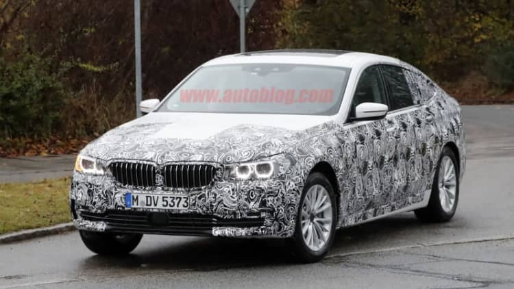 BMW's next Gran Turismo model shows off a little more roofline