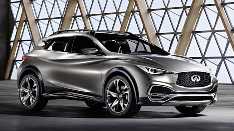 Infiniti QX30 Concept is ready to join the compact crossover fray