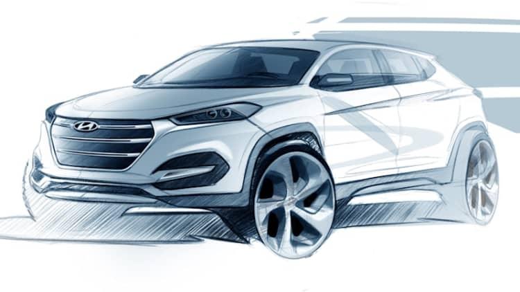 Hyundai teases new Tucson ahead of Geneva [w/video]