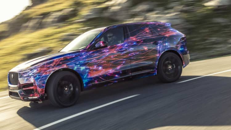 More Jaguar F-Pace details revealed [w/video]