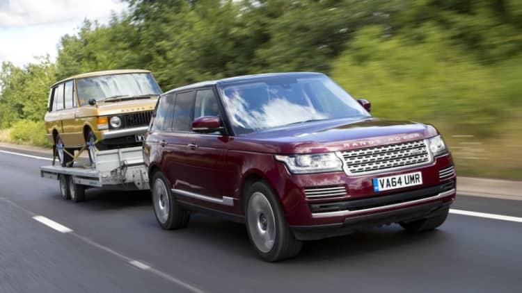 Land Rover showcases smart trailer tech