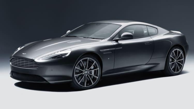 Aston Martin DB9 GT breaks cover