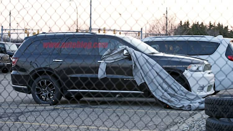 High-performance 2018 Dodge Durango SRT spied