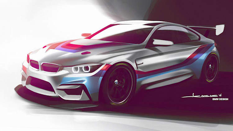 The new BMW M4 GT4 carries the factory-prepped race torch