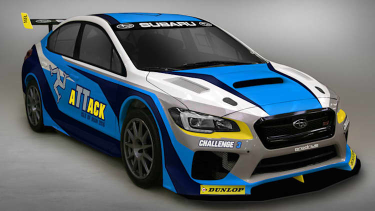 Custom-built Subaru Impreza is set to break Isle of Man record