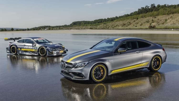 Mercedes previews new C63 DTM racer alongside Edition 1