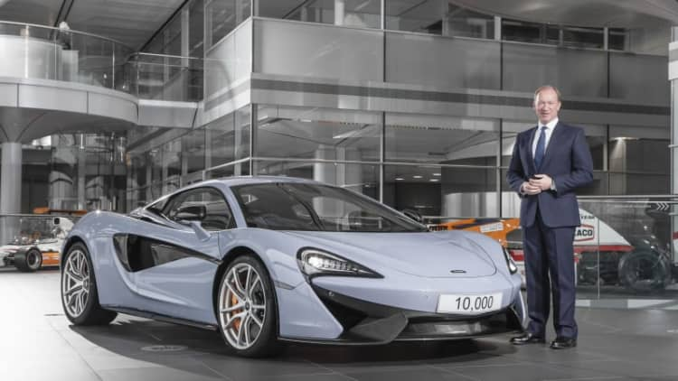 McLaren's 10,000th car shows how close it is to catching up with Ferrari and Lamborghini