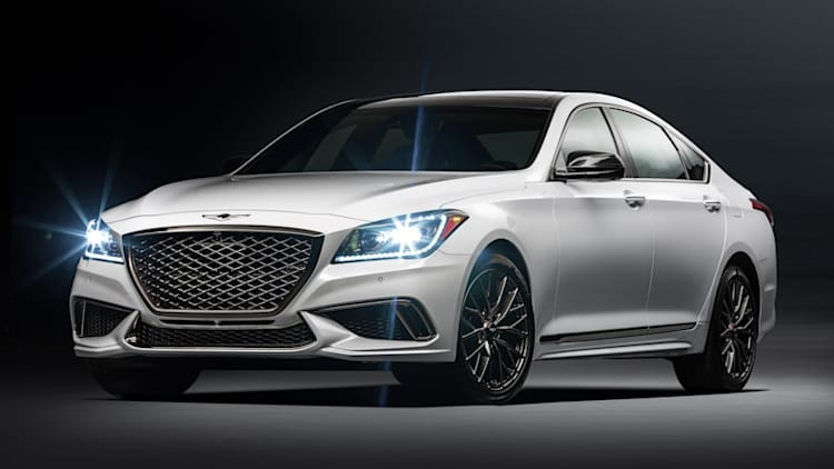 2018 Genesis G80 Sport gets the G90's twin-turbocharged V6