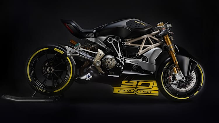 Ducati shows off DraXter concept drag bike