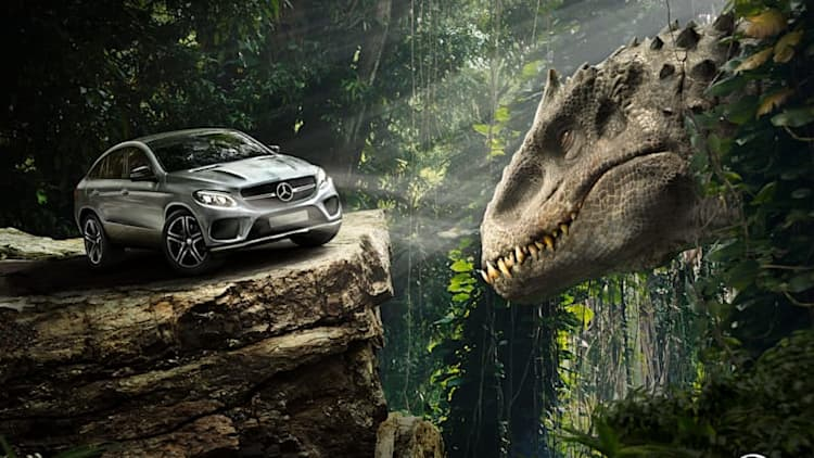 Escape the dinosaurs in Jurassic World with Mercedes-Benz [w/video]