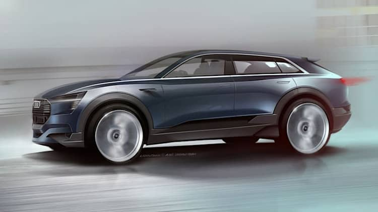 Audi will show all-electric 'sporty SUV' in Frankfurt