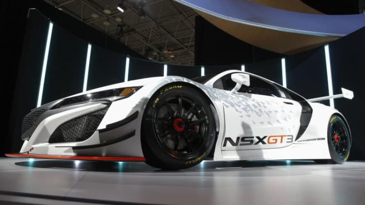 Acura NSX GT3 data 'will inform future iterations' of the street car